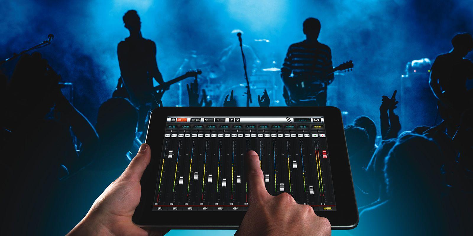 Mesa de Som Soundcraft Ui-16 Digital