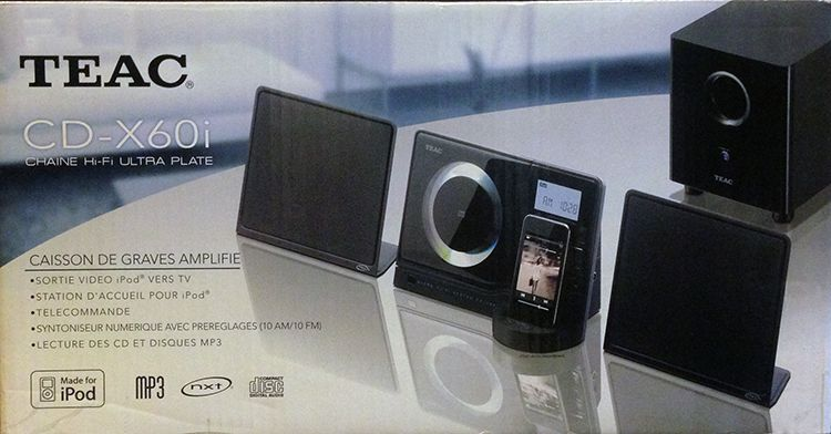 Micro System Teac CDX60i Hi-Fi