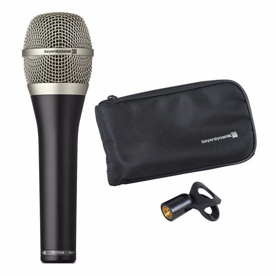 Microfone Beyerdynamic TG V50D - Dinâmico Com Fio