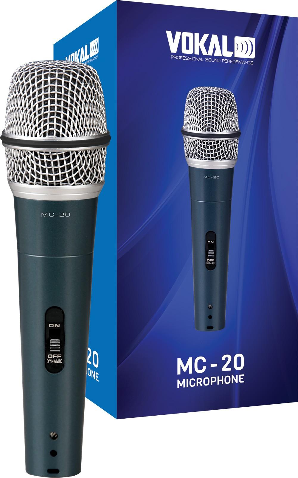 Microfone Com Fio Vokal MC-20