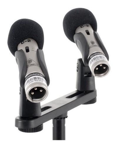 Microfone Condensador para Estúdio Behringer C-2