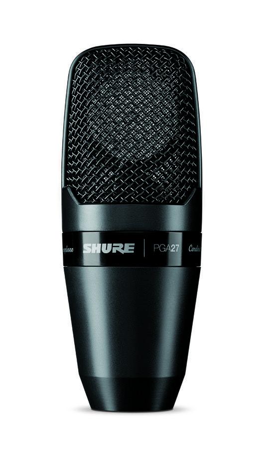 Microfone Shure PGA27-LC Condensador