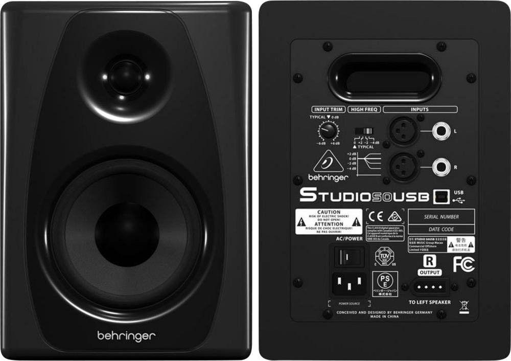 Monitor de Referência Behringer Studio 50usb