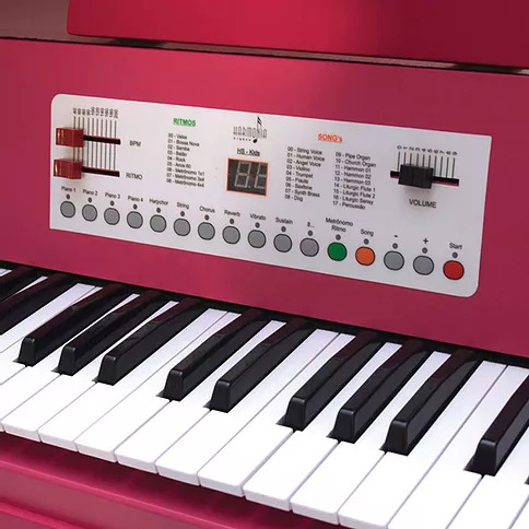 Piano Infantil Harmonia HS-Kids Rosa