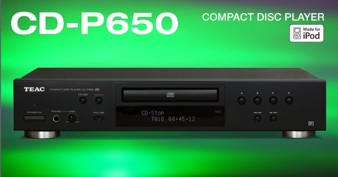 Player Teac CD P650 USB