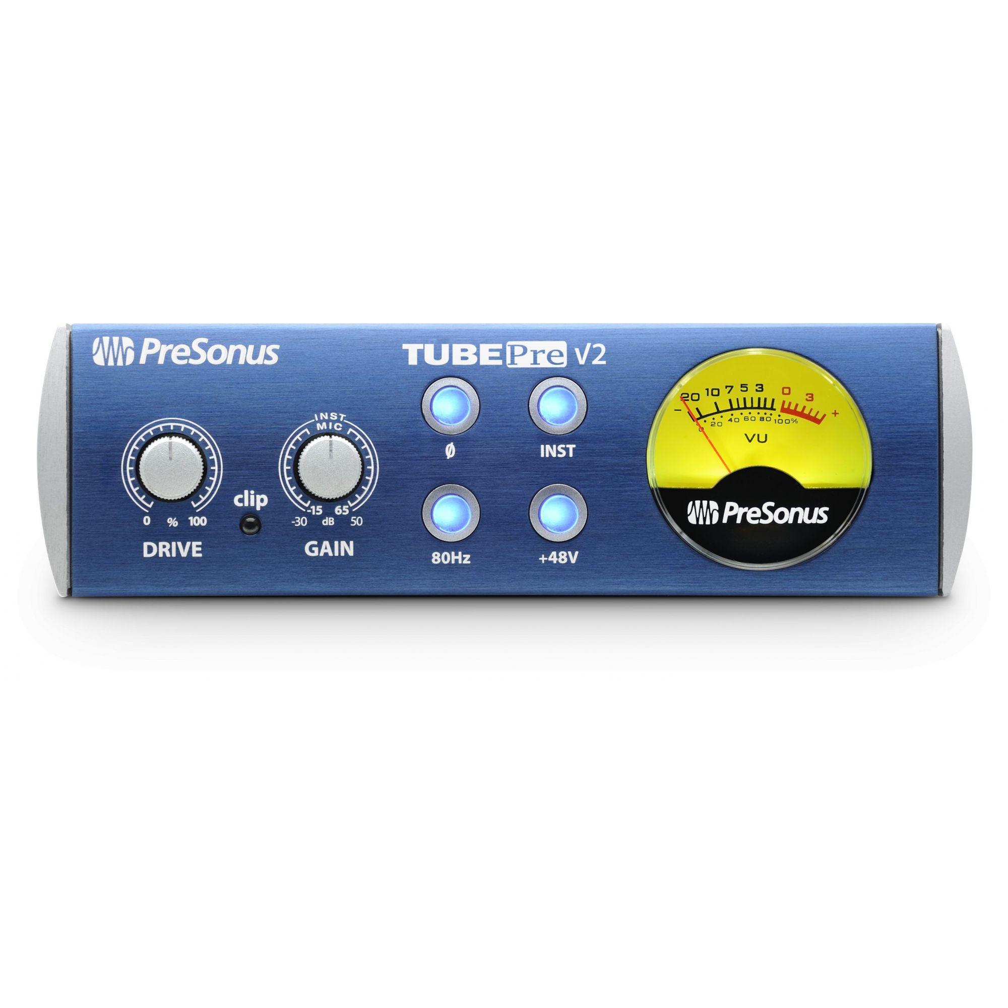 Pré-amplificador Valvulado Presonus TubePre V2