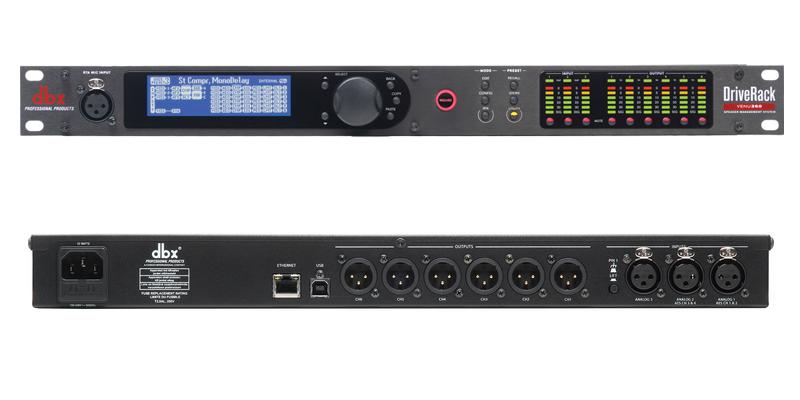 Processador de Áudio DBX DriveRack Venu360