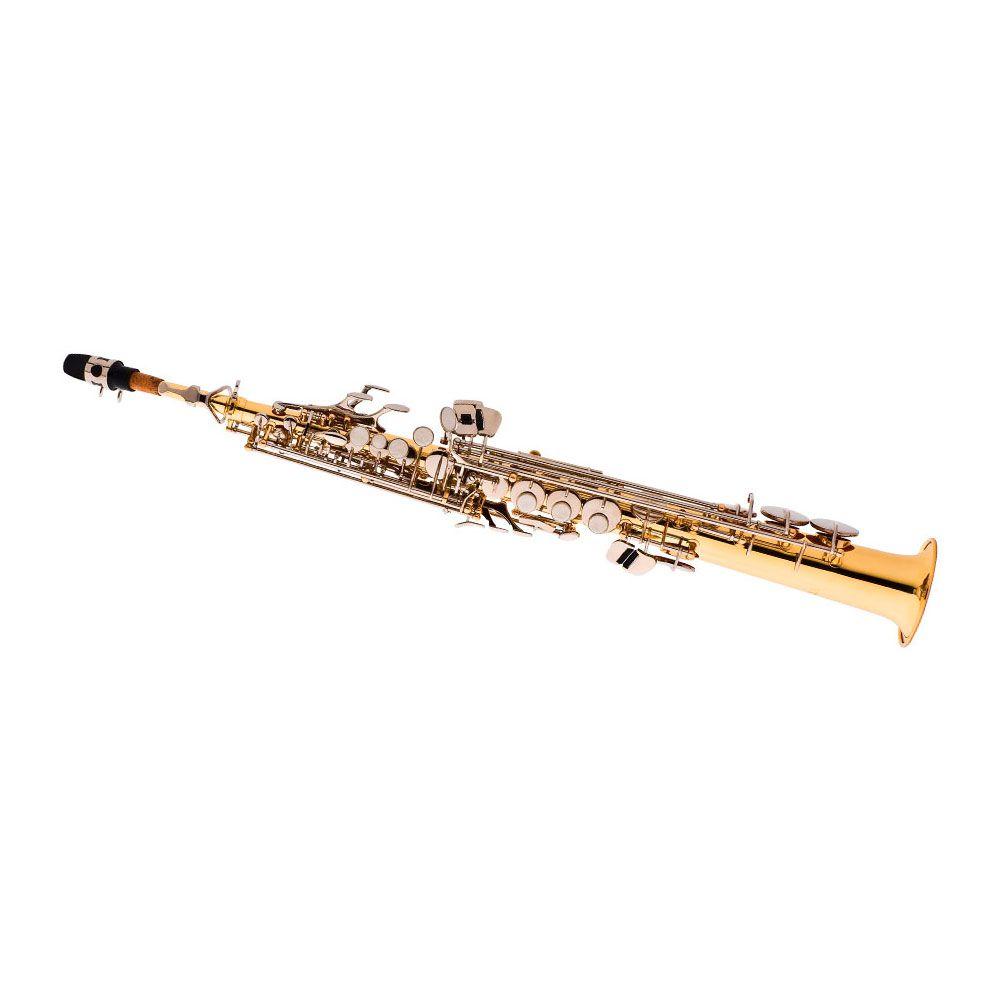 Saxofone Eagle Soprano SP502 LN em Sib
