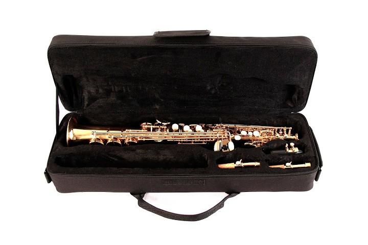 Saxofone Soprano Reto Schieffer SCHSS-001 Laqueado
