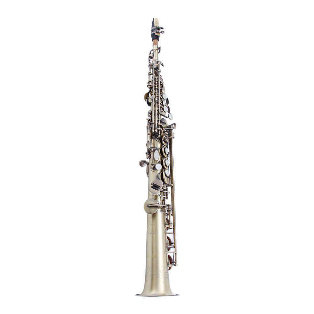 Saxofone Waldman Soprano WSS OL em Sib