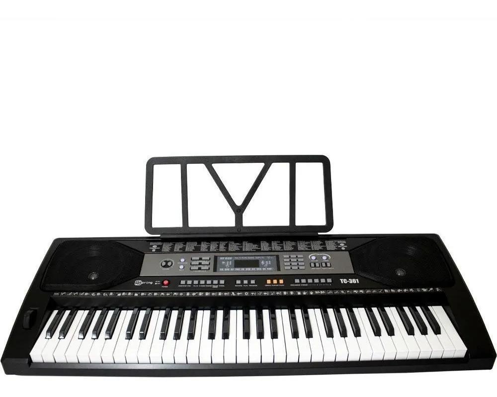 Teclado Musical Sensitivo Spring TC-361