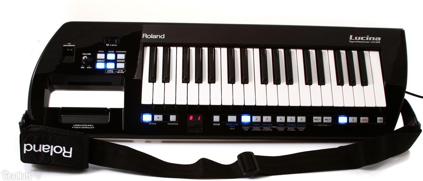 Teclado Roland Lucina AX-09 Sintetizador