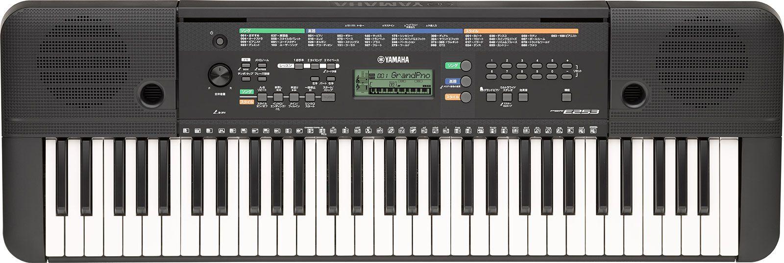 Teclado Yamaha PSR E253