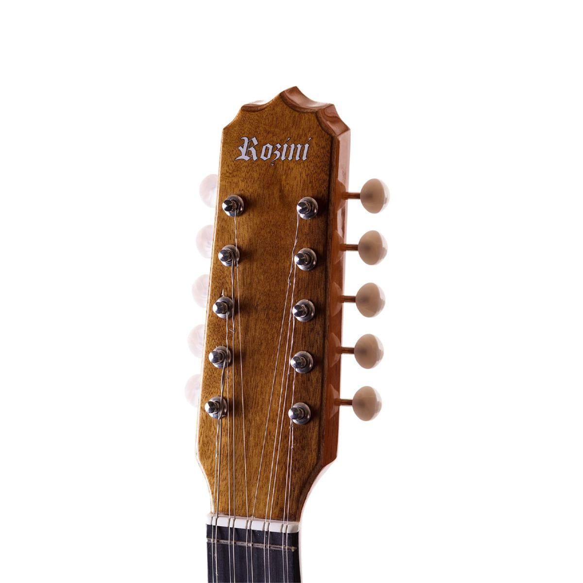 Viola Caipira Cinturada Acústica Rozini RV154 ACN Natural