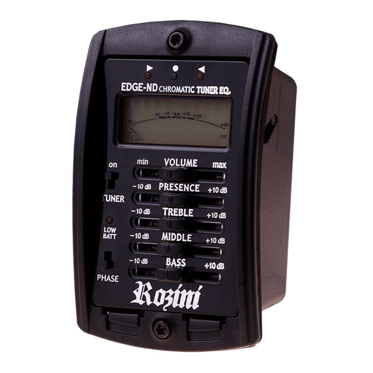 Viola Elétrica Caipira Ponteio Rozini RV151 ATFM Natural Fosco