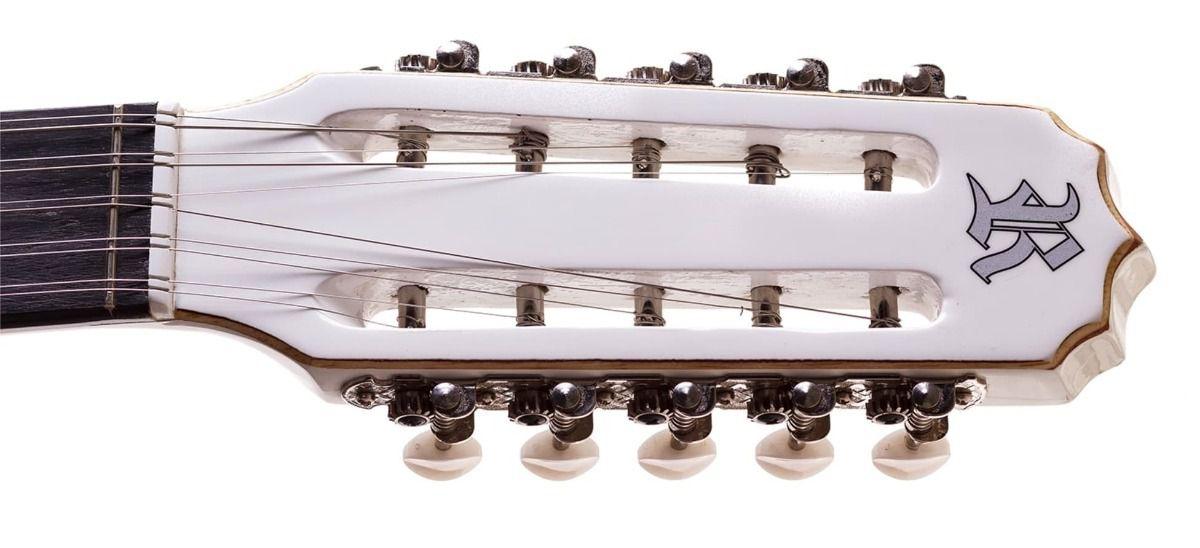 Viola Elétrica Clássica Rozini RV-111 ATB - Branca