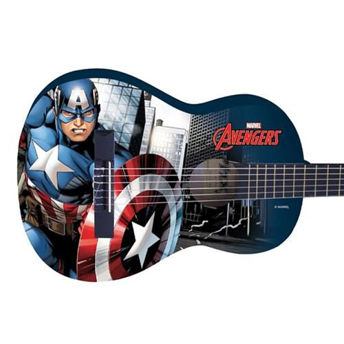Violão Acústico Infantil Nylon PHX Marvel - Capitão América