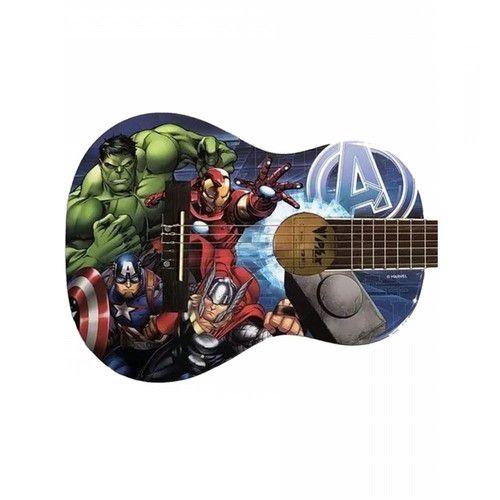 Violão Acústico Infantil Nylon PHX Marvel - Avengers