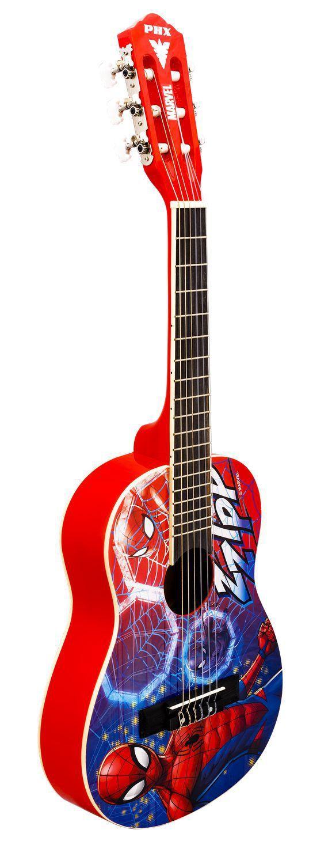 Violão Acústico Infantil PHX Marvel VIM-S2 Spider-Man