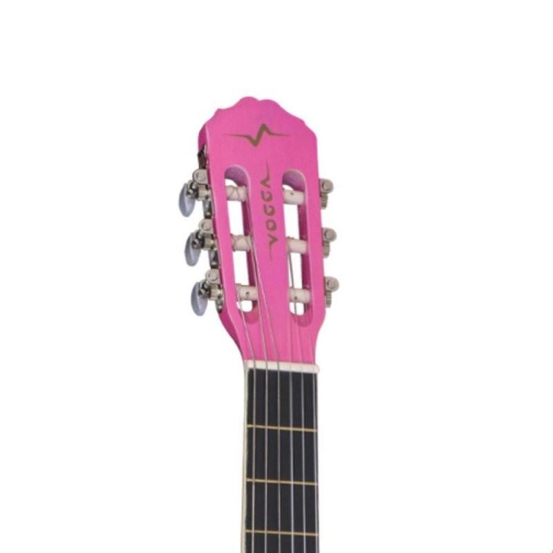 Violão Acústico Vogga VCA205 Pink Nylon