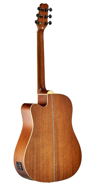 Violão Folk Elétrico Malibu Grand Canyon Brown Satin Aço
