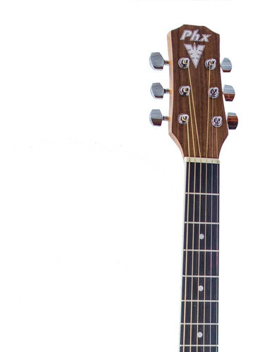 Violão Folk Elétrico PHX PX-199-84 Edição Especial - Mahogany