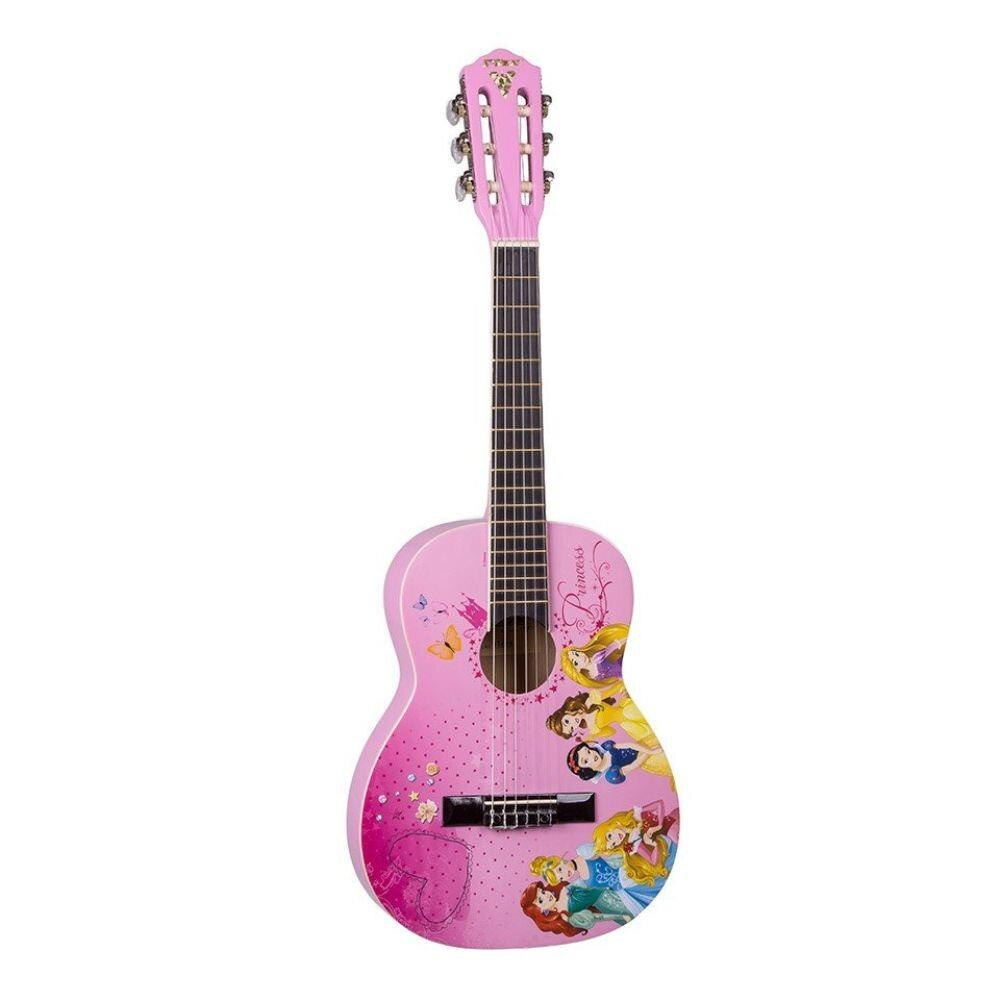 Violão Infantil Acústico PHX Princesas Disney VIP-3 Nylon