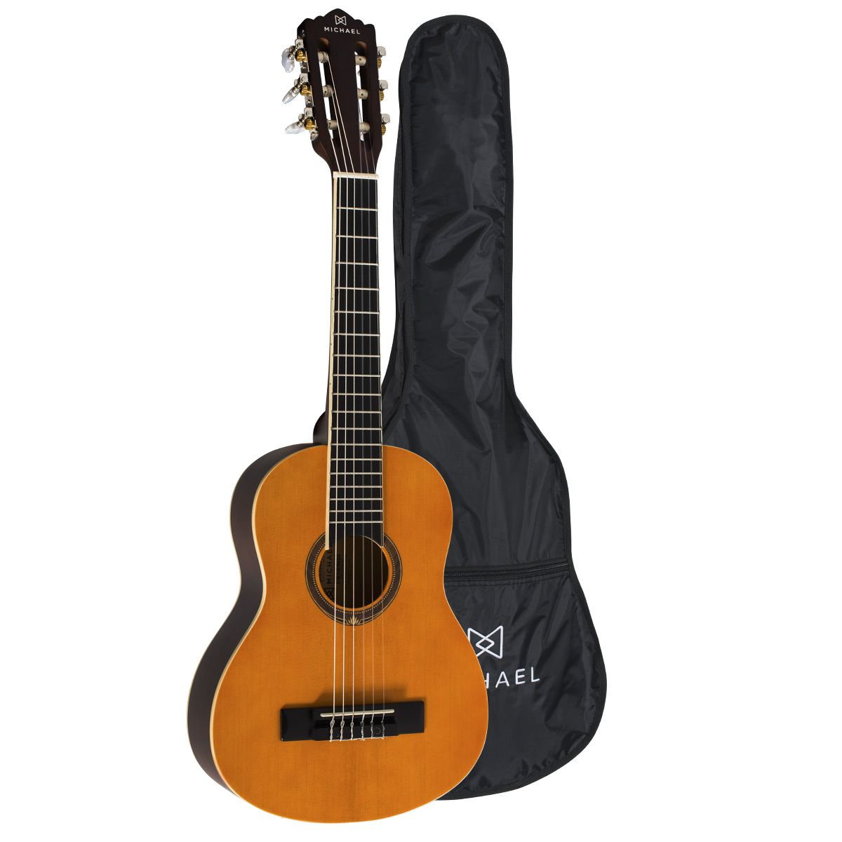 Violão Michael VM10E Natural Satin – Acústico Nylon