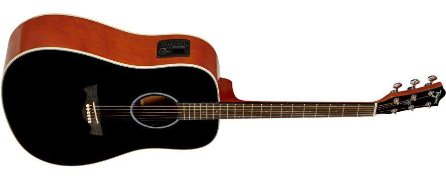 Violão Tagima TW-25 Folk Preto - Elétrico Aço