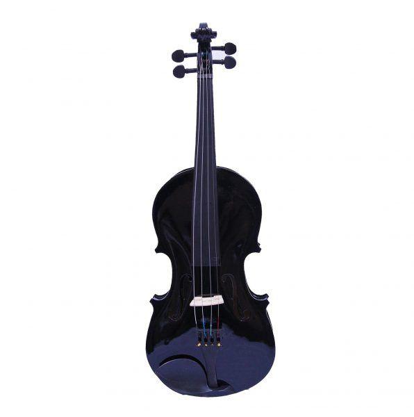 Violino Jahnke Popular Alto Brilho 4/4 - Black