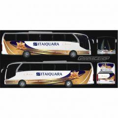 8 un. Ônibus Em Miniatura Iveco Personalizados