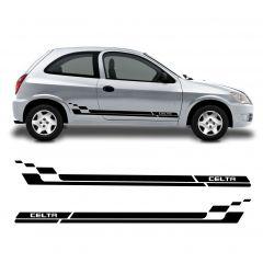 Adesivo Lateral Chevrolet Celta