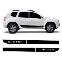 Adesivo Lateral Renault Duster Modelo 03