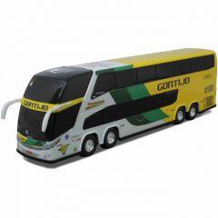 Ônibus Miniatura Viação Gontijo DD 4 eixos