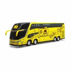 Novo Ônibus Miniatura Rádio Ônibus DD