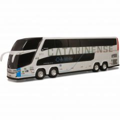 Ônibus Em Miniatura de Brinquedo Auto Viação Catarinense 1800 Dd G7