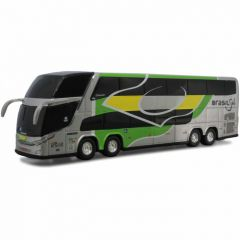 Ônibus Em Miniatura De Brinquedo Brasil Sul 1800 Dd G7
