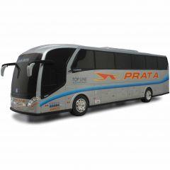 Ônibus Em Miniatura De Brinquedo Expresso de Prata