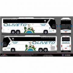 Ônibus Em Miniatura de Brinquedo Personalizado Oliveto