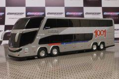 Ônibus Em Miniatura De Brinquedo Viação 1001 1800 Dd G7 Personalizado