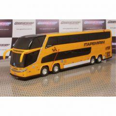 Ônibus Em Miniatura De Brinquedo Viação Itapemirim 1800 Dd G7