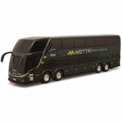 Ônibus Em Miniatura De Brinquedo Viação Motta 1800 Dd G7