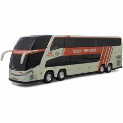 Ônibus Em Miniatura de Brinquedo Viação Ouro Branco 1800 Dd G7