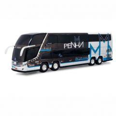 Ônibus Em Miniatura De Brinquedo Viação Penha 1800 Dd G7