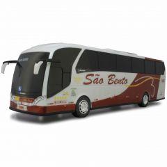 Ônibus Em Miniatura De Brinquedo Viação São Bento