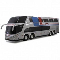Ônibus Miniatura Expresso De Prata DD Retrô