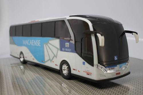 Ônibus Em Miniatura De Brinquedo Viação Macaense