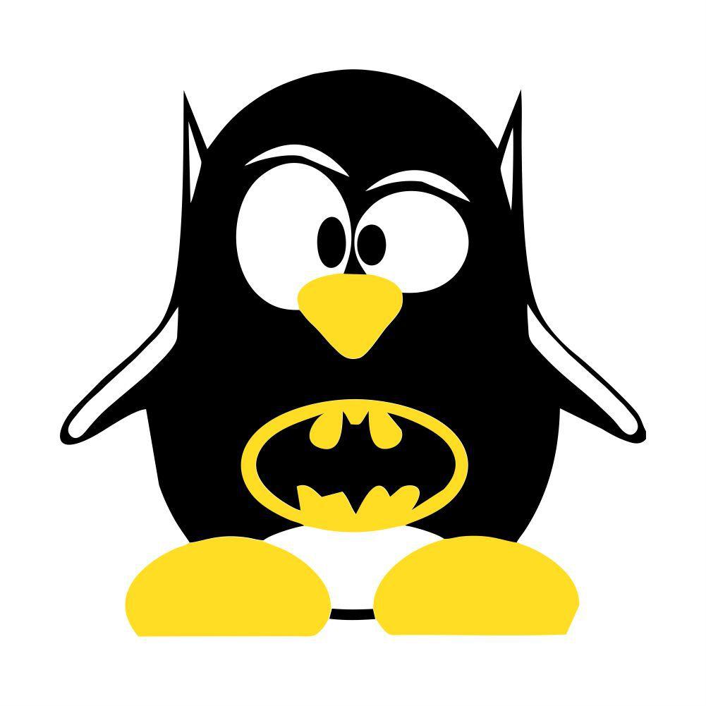 Adesivo de Geladeira Pinguim Batman