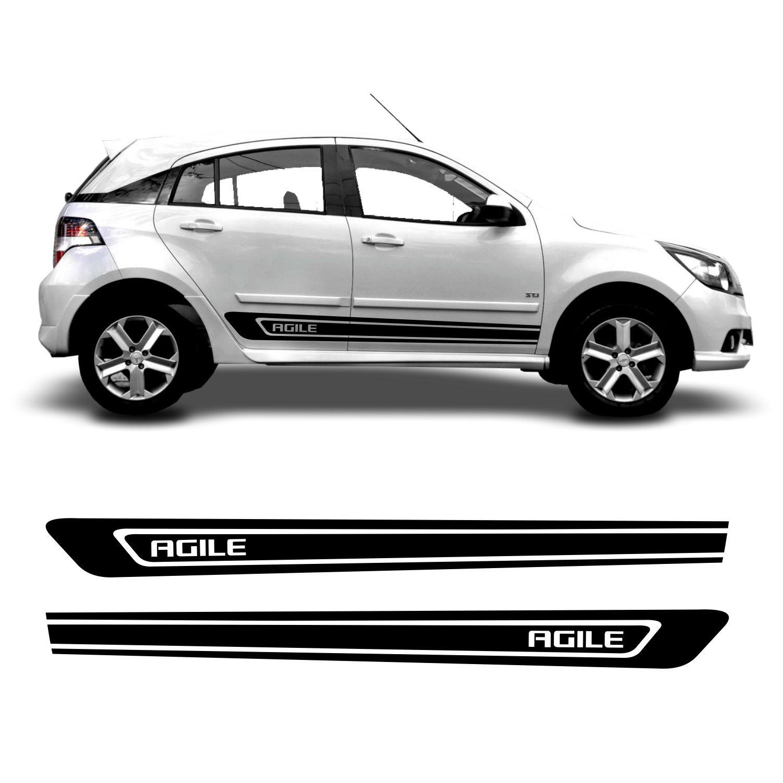 Adesivo Lateral Chevrolet Agile