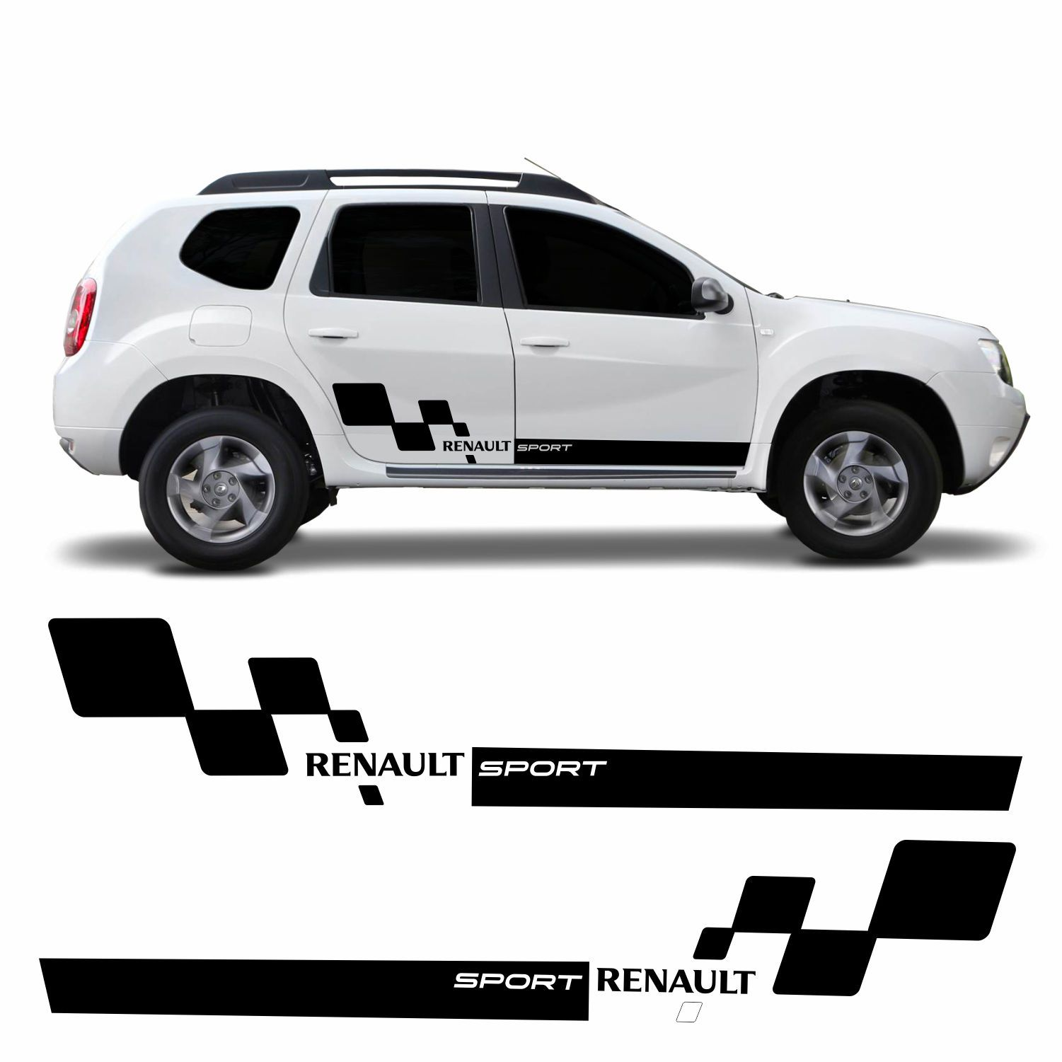 Adesivo Lateral Renault Duster Modelo 01